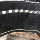 chenille en caoutchouc de motoneige 500*50,5*56 avec clip métallique