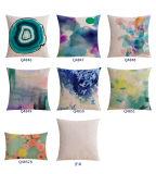 Almofadas de algodão de algodão de luxo e almofadas rústicas para cama