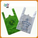 Sacchetti non tessuti personalizzati del polipropilene per la pubblicità con il marchio dell'azienda