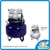Compresor de aire libre de aceite silencioso dental