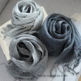 Stole верхнего качества BSCI покрашенный равниной Linen/Unisex шарф (HWBL01)