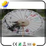 Support décoratif classique imperméable à l'eau fait sur commande de centres commerciaux d'hôtel de restaurant de parapluie de métier de type chinois de parapluie de danse de parapluie de parapluie de papier de pétrole