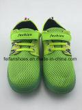 子供の男の子のスポーツの注入のズック靴の偶然靴(FFHH-092602)