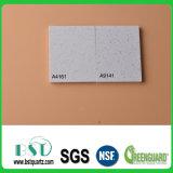 Bancada material de superfície contínua pré-fabricada de quartzo