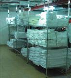 3層800lbsのホテルの洗濯の倉庫の記憶NSFのクロム鋼ワイヤー棚の棚付けのラッキング