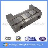 Pieza de acero modificada para requisitos particulares de la pieza del CNC que trabaja a máquina para el molde de la pieza inserta