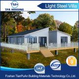 Camera prefabbricata d'acciaio del calibro dell'indicatore luminoso di disegno modulare con la camera da letto 2