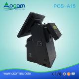 Кассовый аппарат экрана касания POS-A15 Windows Android электронный с принтером