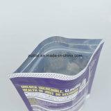 Saco plástico do Zipper de Customzied do produto comestível