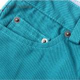 Phoebee simple flaco Llanura algodón primavera / otoño / invierno pantalones para niñas