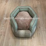 작은 개 애완견 침대 가구를 채우는 가죽 개 소파를 위한 개 침대