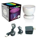 Ocean Wave Night Light Projector e Music Player