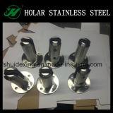 ステンレス鋼のガラスプールの塀の栓