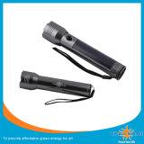 재충전용 소형 태양 토치 LED 플래쉬 등 또는 램프
