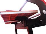 Máquina neumática de la prensa del calor de la estación doble