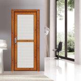 Двери ванной комнаты шторма экспорта Китая дешево внутренне декоративные стеклянные