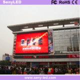 LED al aire libre que hace publicidad de la pantalla de visualización a todo color de LED de la cartelera