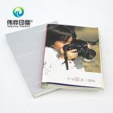 Impresión de alta calidad Cuadernos de plata Offprint con logotipo en relieve