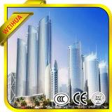 Tempered de vidro do baixo revestimento energy-saving de E para o edifício comercial