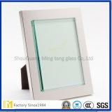 vidrio de hoja del claro de 1.3m m 1.8m m 2m m 3m m 4m m para el precio de fábrica del marco de la foto