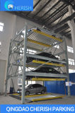 Sistema do estacionamento do enigma do Four~Six-Assoalho