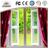Casement Windowss do baixo custo UPVC para a venda