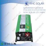 Inverseur pur solaire de basse fréquence d'onde sinusoïdale 1000W
