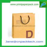 Logo de achat personnalisé d'impression de sac de papier