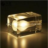 Kreative Form verzierte Bedhead LED Eis-Würfel-Anzeigen-Beleuchtung-Tisch-Lampe