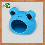 Cute Frog Shape Pet Small Animals Hamsters Ceramics Nest