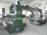 Machine flexographique d'imprimante de papier d'emballage de couleurs de la haute précision 4