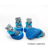 Knitting Pet Products Accueil Boot Wear Chaussettes pour chien Chaussures