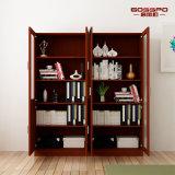 Scaffale di legno dell'ufficio della camera da letto di disegno moderno di sconto (GSP9-032)