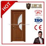 Modèle moderne en bois de porte intérieure de meubles de chambre à coucher