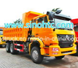 Vrachtwagen van de Kipwagen/van de Kipper van de Vultrechter van de Technologie van de Mens van Sinotruk de Op zwaar werk berekende/de Vrachtwagen van de Stortplaats