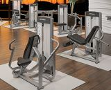 lifefitness, machine de force de marteau, forme physique, épaule Press-DF-8004