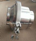 valvola di ritenuta saldata ritorno sanitario dell'acciaio inossidabile 304/316L non