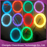 1.4mm, 2.3mm, 3.2mm, luz de néon da corda do fio do EL de 5.0mm