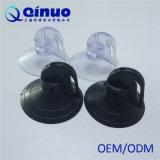 Copo plástico preto e branco da sução do PVC da alta qualidade de Qinuo para máscaras de Sun dos carros