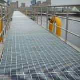 Metallbaumaterial-heiße eingetauchte galvanisierte Stahl-Vergitterung