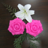 Fiore multicolore tremulo del Peony di plastica del LED con la funzione impermeabile per esterno