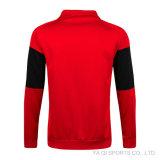 Tracksuit футбола куртки футбола цвета раговорного жанра Tracksuit зимы людей ворота белый
