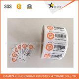 Impresión cortada con tintas modificada para requisitos particulares de la escritura de la etiqueta, escrituras de la etiqueta de encargo, etiqueta autoadhesiva del código de barras