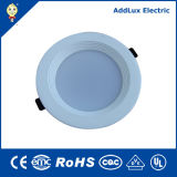 Blanco cálido 10W 20W 30W Downlight LED SMD regulable de ronda