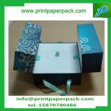 Rectángulo de almacenaje distintivo de lujo del rectángulo de joyería de la caja de embalaje del regalo de la cartulina que graba