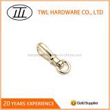 Крюк кнопки крюка талрепа крюка светлого сплава цинка золота малый миниый для мешка