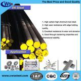 L'acier froid 1.2080/D3/SKD1 de moulage de travail meurent l'acier