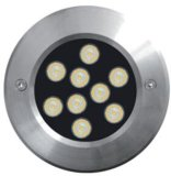 Bajo dispositivo del agua LED, luz subacuática del LED