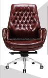 Стул офиса отдыха стула CEO искусственной кожи деревянный (Hx-Cr026)