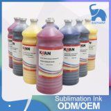 Tinta do Sublimation/transferência da tintura do E-Ouro de Kiian da boa qualidade para Mutoh